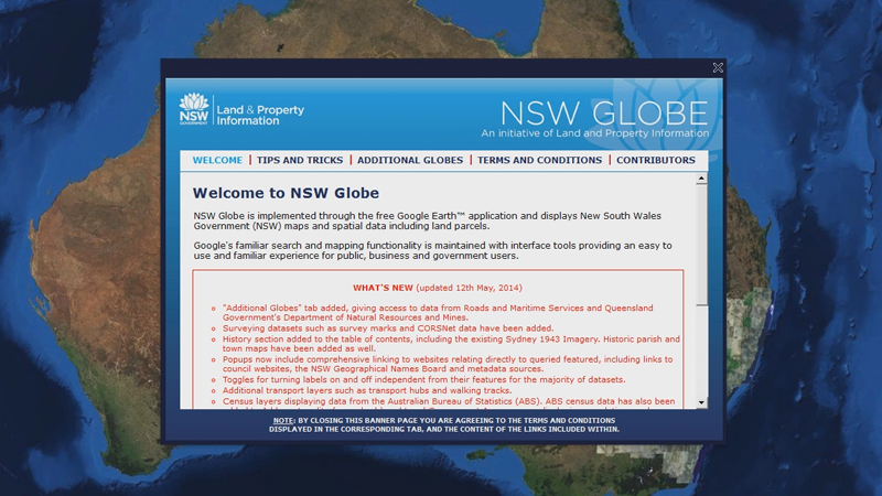 NSW Globe - Getting Started